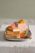 Smoked trout pâté with citrus fruits (Italy)
