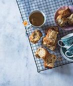 Rosemary buttermilk rusks
