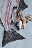 Fish carcasses as the base for soup