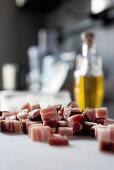 Bacon pieces
