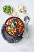 Vegetarian minestrone