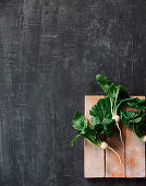 Fresh Turnips with Greens