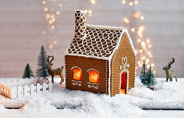 Gingerbread Swedish house