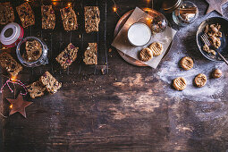 Christmas cake rusks (Christmas cookies, South Africa)