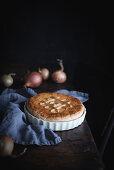 Caramelized Onion and Mushroom Pie