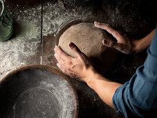 Shaping bread dough