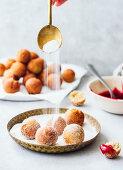 Farm cheese donut balls