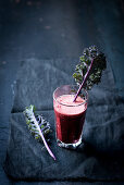 Beetroot kale smoothie