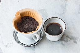 Fresh filter coffee