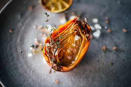 Roasted Onion with Thyme
