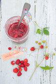 Macerated wild strawberry jam