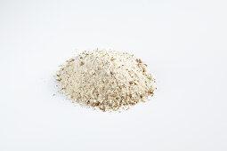 Homemade elderflower salt for fish, poultry, vegetables and salad dressings
