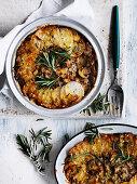 Potato and Mushroom Pie