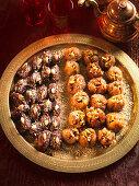Stuffed figs and dates