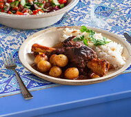 Incik (lamb shanks, Turkey)