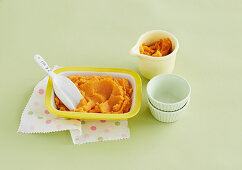 Steamed White Fish and Kumara Puree for babies (6-9 Months)