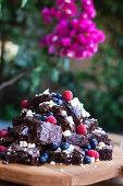 Beetroot chocolate brownies