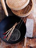 Asian kitchen utensils