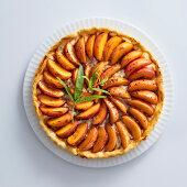 Crostata alle albicocche, vaniglia e cannella