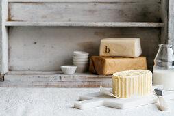 Butter still life