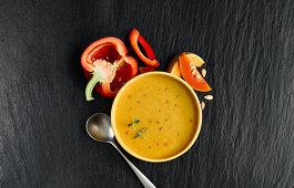 Butternut Squash Parmasan Soup
