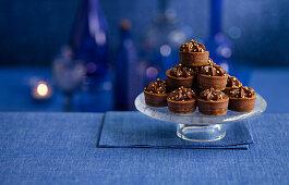Frozen Belgium Chocolate Cheesecakes