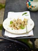 Herb filled dumplings (Cjarsons)