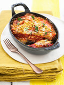 Spicy Paprika Parmigiana with Provolone