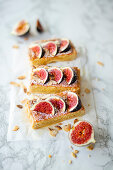 Frangipane tart with figs (Italian fig cake)