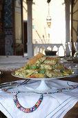 Polpettone di fagiolini (green bean and potato casserole, Italy)