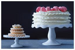 Festive cake buffet