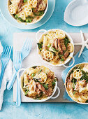 Tuna and Spinach Mac n Cheese