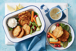 Easy Salmon and Corn Fish Cakes