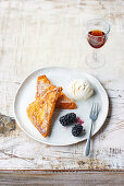 Torrijas with sherry - Spanish 'French toast'