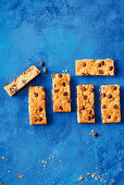 Date chocolate chip cookie bars
