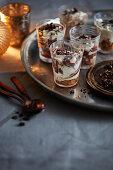 Chocolate espresso shots