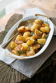 Parmesan potatoes with rosemary