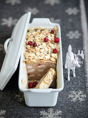Turkey terrine with whisky and lingon berries