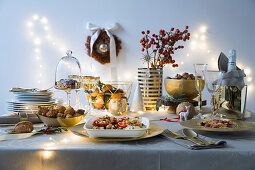 Italian Christmas buffet