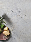 Parmesan and herbs