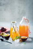Vanilla and passion fruit rum