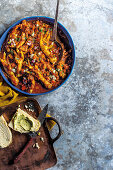 Chicken feet and chakalaka potjie (South Africa)