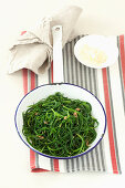 Monk's beard with anchovies