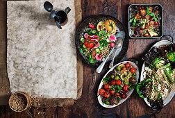 Vegan sides and salads
