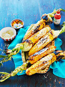 Spiced grilled corn