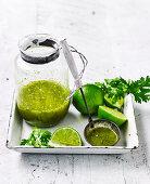 Coriander lime dressing
