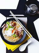 Asian ginger chicken congee