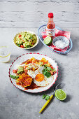 Chilaquiles (Mexican breakfast nachos)