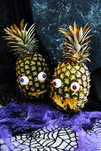 Healthy Halloween: Scary Pineapples