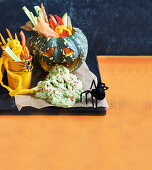 Healthy Halloween: Guacamole Monster